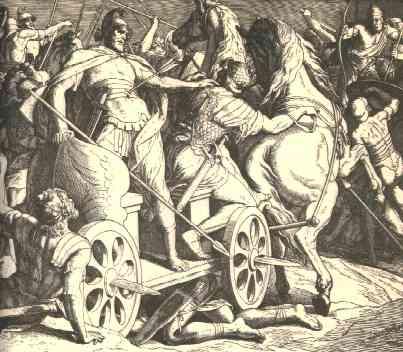 Ahab's Death