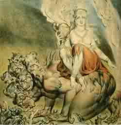 The Whore of Babolon by William Blake 1809