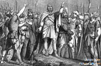 Mighty Men RoyaltyFree King David And His