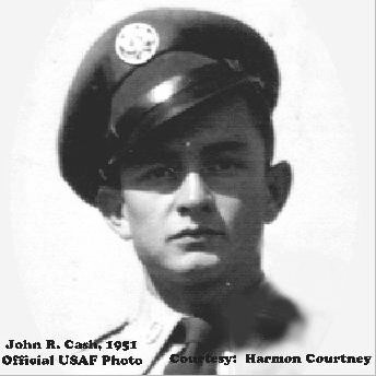 Johnny Cash Air Force Career http://orderofcenturions.org/cash_johnny.html