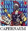 Centurion of Capernaum: from a stained-glass window in  