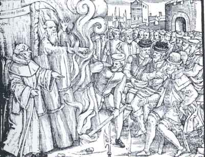 Cranmer at the Stake