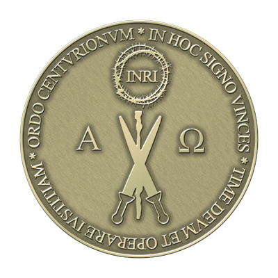 circular medal of the Order